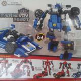 Jucarie  Universal Robot -Rodimus-Modul  2 IN 1 pot fi asamblate într-un robot sau o masina.