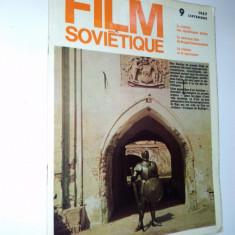 Revista LE FILM SOVIETIQUE / Septembrie - 1967( in limba franceza)