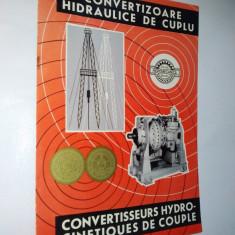 Pliant - Uzina Hidromecanica Brasov: prezentare convertizor de cuplu hidraulic, anii '60 - Pliant Meniu Reclama tiparita