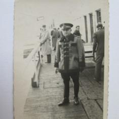 FOTOGRAFIE OFITER CAROL II - Fotografie veche