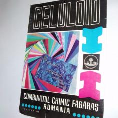 Pliant - Combinatul Chimic Fagaras - Celuloid, anii '60 - Pliant Meniu Reclama tiparita