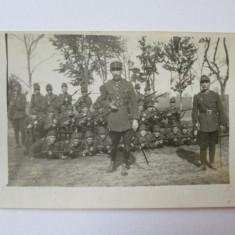 FOTOGRAFIE MILITARI ROMANI CAROL II - Fotografie veche