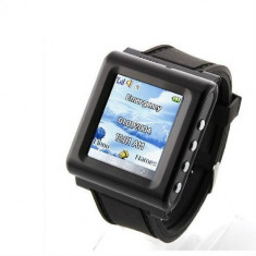 Ceas Telefon Mobil AK912 model 2014 Camera Spion Nou Sigilat la cutie Alb Negru AOKE - Smartwatch