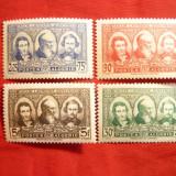 Serie -In onoarea pionierilor Saharei 1939, Algeria Colonie Franceza, 4 val.sarniera