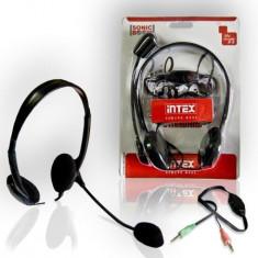 Casti Cu Microfon Standard Ap-850Sb Intex - Casca PC