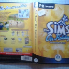 Joc PC - The Sims - On holiday extension pack (GameLand) - Jocuri PC Electronic Arts, Simulatoare, 12+, Single player