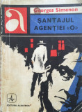 SANTAJUL AGENTIEI  O  - Georges Simenon