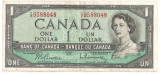 Canada 1 Dollar Dolar 1954(1961-72) VF