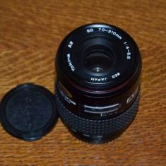 Obiectiv Tokina AF 70-210mm/1:4-5, 6 montura Minolta Sony Alpha - Obiectiv DSLR Tokina, Minolta - Md