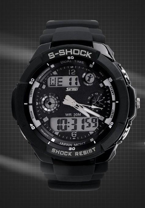 Ceas SUBACVATIC SKMEI S-Shock  SPORT ALARMA CALENDAR CRONOMETRU DUAL TIME| CEL MAI MIC PRET GARANTAT | GARANTIE foto mare
