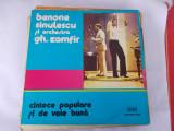 BENONE SINULESCU  SI ORCHESTRA GHEORGHE ZAMFIR -  , VINIL FARA ZGARIETURI