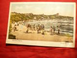 Ilustrata Carmen Sylva - Plaja Movila 1934