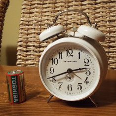 Ceas vintage mecanic TIMEMASTER - Ceas desteptator