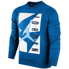 Hanorac Jordan Retro 7 Block Fleece Crew   Produs 100% original   Livrare cca 10 zile lucratoare   Aducem pe comanda orice produs din SUA - Bluza barbati