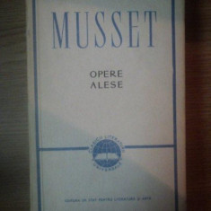 OPERE ALESE-MUSSET 1959 - Roman