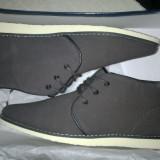 Pantofi Lee Cooper - Ghete barbati Lee Cooper, Marime: 42, Culoare: Maro, Textil