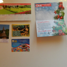 Set de 5 calendare de colectie, anul 2014, de buzunar, ideale pentru colectionari, diverse tematici, pentru colectionari - Calendar colectie