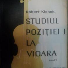 STUDIUL POZITIEI I LA VIOARA, CAIETUL II de ROBERT KLENCK, 1965 - Muzica Dance
