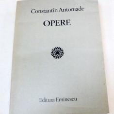 OPERE-CONSTANTIN ANTONIADE 1985 - Carte Psihologie
