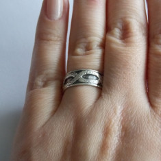 Inel argint vintage  - 471
