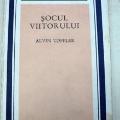 SOCUL VIITORULUI-ALVIN TOFFLER 1973 - Carte Psihologie