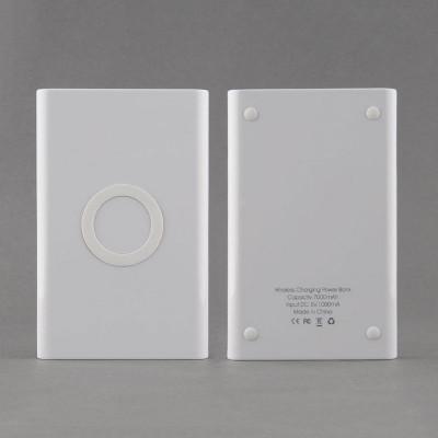 Combo (baterie externa 7000 mAh +incarcator wireless) pt. telefoane mobile foto