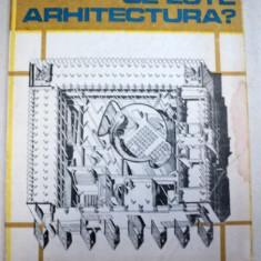 CE ESTE ARHITECTURA?-COSMA JUROV - Carte Arhitectura