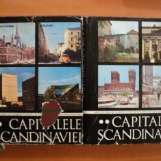 CAPITALELE SCANDINAVIEI, ARHITECTURA DE - A LUNGUL VEACURILOR VOL. I - II de ARH. PETER DERER, Bucuresti 1979 - Carte Arhitectura