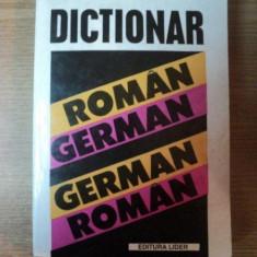 DICTIONAR GERMAN - ROMAN, ROMAN - GERMAN de IOAN LAZARESCU - Carte in alte limbi straine