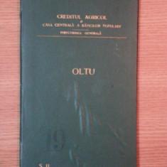 HARTA CAILOR DE COMUNICATIE DIN JUDETUL OLTU IN ANUL 1903 - Harta Romaniei