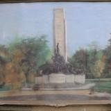 EUGENIA GASPAR- MONUMENTUL EROILOR - Pictor roman