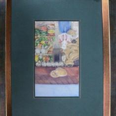 FLORINA NACES 1906- LA TARG - Pictor roman