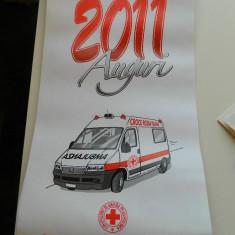 Calendare de colectie, anul 2011, de perete, din Italia, ideal pentru colectionari, colectie calendare - Calendar colectie