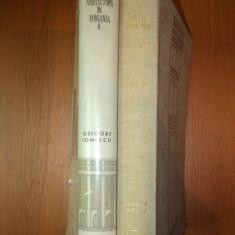 ISTORIA ARHITECTURII IN ROMANIA-GRIGORE IONESCU 2 VOL 1965 - Carte Arhitectura