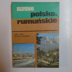GHID DE CONVERSATIE, POLON - ROMAN de AURA TAPU, VICTOR JEGLINSCHI, 1981 - Carte in alte limbi straine
