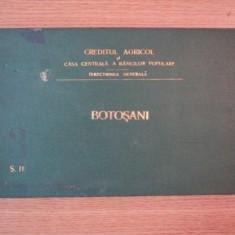 HARTA CAILOR DE COMUNICATIE DIN JUDETUL BOTOSANI IN ANUL 1903 - Harta Romaniei