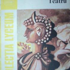 Teatru Plaut Terentiu - Carte Teatru