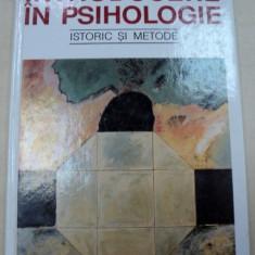 INTRODUCERE IN PSIHOLOGIE de FRANCOISE PAROT, MARC RICHELLE 1995 - Carte Psihologie
