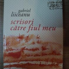 SCRISORI CATRE FIUL MEU de GABRIEL LIICEANU, 2008 - Roman
