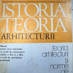 ISTORIA SI TEORIA ARHITECTURII 1977 - Carte Arhitectura