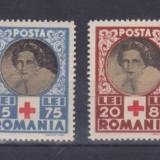 1945 - CRUCEA ROSIE - LP165 - 4 VALORI - MNH !!! - Timbre Romania, Medical, Nestampilat