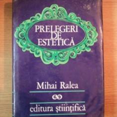 PRELEGERI DE ESTETICA-MIHAI RALEA 1972