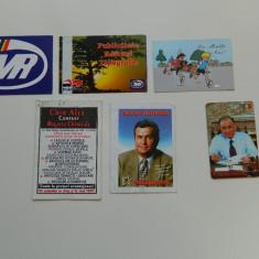 Set de 6 calendare de colectie, 1997, ideale pentru colectionari, colectie calendare - Calendar colectie