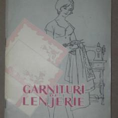GARNITURI DE LENJERIE - ECATERINA TONIDA BUCURESTI 1961 - Carte Fabule