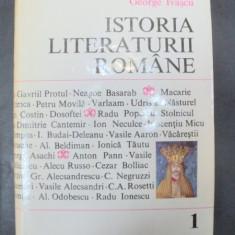 ISTORIA LITERATURII ROMANE-GEORGE IVASCU BUCURESTI 1969
