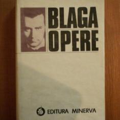 OPERE. VOL 1: POEZII ANTUME de LUCIAN BLAGA 1982 - Roman