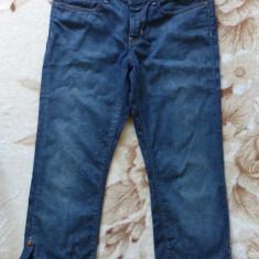 Blugi originali Polo Jeans by Ralph Lauren USA, se pot face ¾; marime L; ca noi - Blugi dama Ralph Lauren, Marime: Alta, Culoare: Din imagine