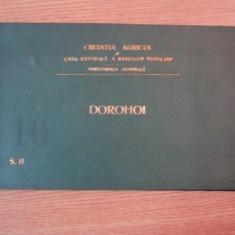 HARTA CAILOR DE COMUNICATIE DIN JUDETULDOROHOI IN ANUL 1903 - Harta Romaniei