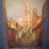 Set de 3 reproduceri foto vechi anii 1950 dupa pictori celebri Belgia - Reproducere