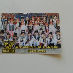 Calendar de colectie, anul 2004, ideal pentru colectionari, colectie calendare, Ansamblu de dansuri populare Buzias - Calendar colectie